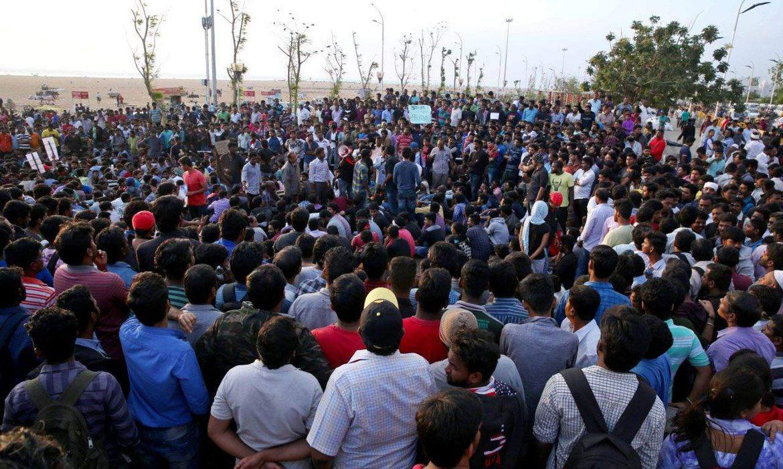 Protest against illegal closure of C-Cubed Solutions (P) Ltd