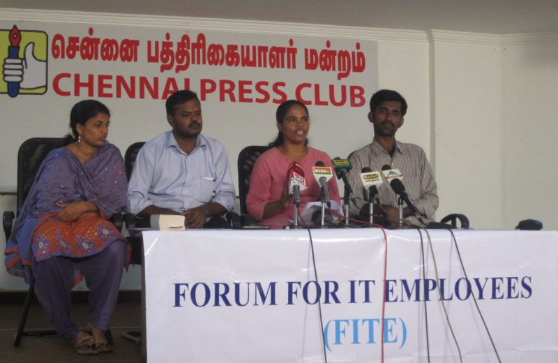 Press Release: On Tamil Nadu Government's Clarification that IT/ITES Employees are being covered by Industrial Disputes Act