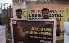 IT Employees gathering , Justice for Rasila