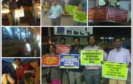 Condemn Bus Tickets' price rise! Save Public Bus Transport Service!